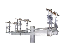 EXTERIOR LY ​​3P-630A-24KV OUTDOOR - POLYMER- INSTALLATION OF HORIZONTAL ON 1 HEAD